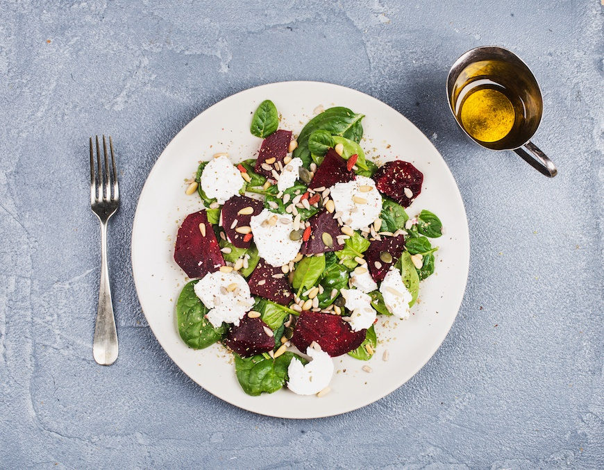 roasted beet salad foods good for your heart