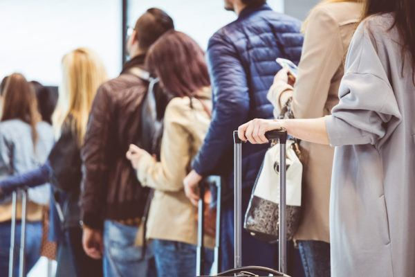 How to wait in line without turning into a horrible shell of a human