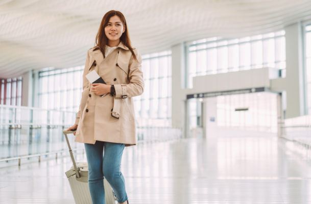 The best time to buy your plane ticket home for the holidays is…