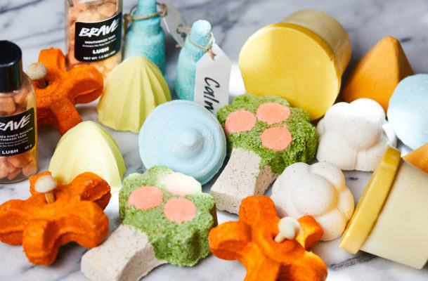These shower bombs offer the perks of a long bath without draining your time or tub
