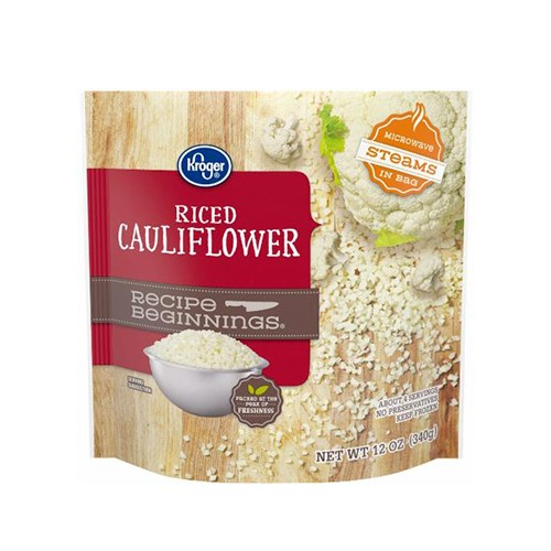 Kroger riced cauliflower