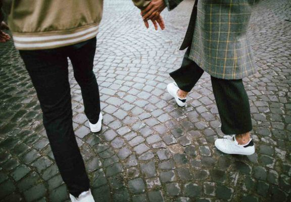 Why I always wear sneakers on a first date