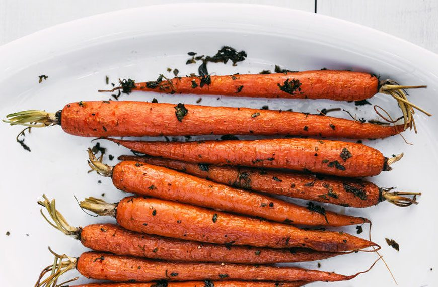 Ina Garten's secret to making roasted carrots taste delish