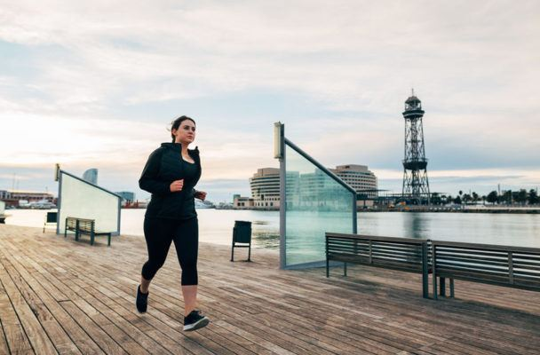 Under the weather? Here's how to tell if you can still go for a run