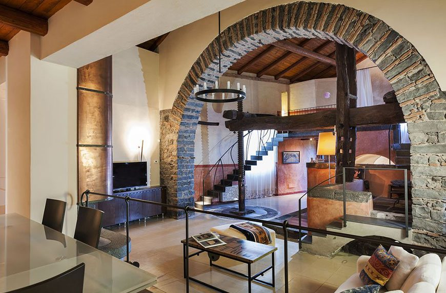 Converted rental properties that basically double as cool tourist attractions