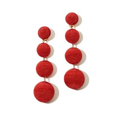 Thumbnail for A new earring trend that'll have you seeing red