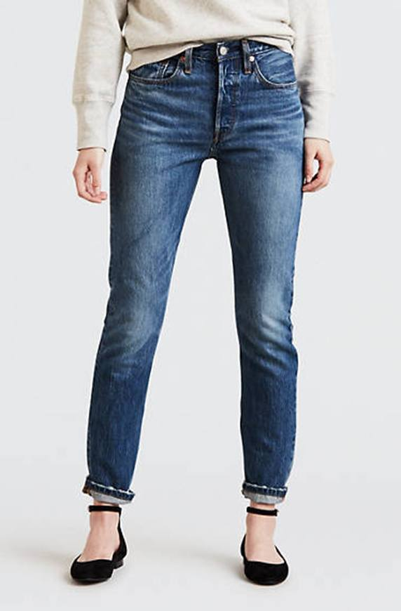 Thumbnail for 12 pairs of comfy jeans that'll convince you to leave the stretch for your workout