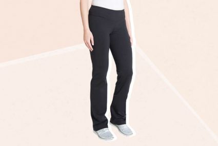 I'm 5′ 11″ and I swear by these $17 Costco yoga pants