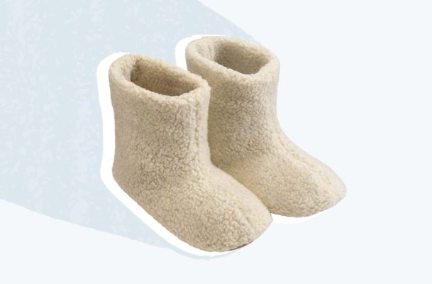 These $22 Fuzzy Slippers Are Single-Handedly Combatting My Winter Blues