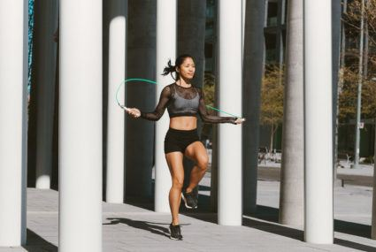 Weighted Jump Rope Is My New Go To Cardio Routine Well Good