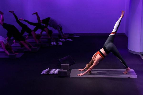 Peloton yoga is here, which means you can finally practice crow pose in peace
