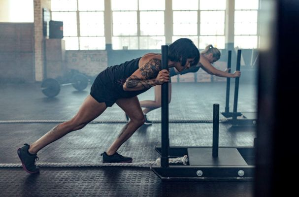 Why thinking about your workout in terms of pushing and pulling can give you serious results