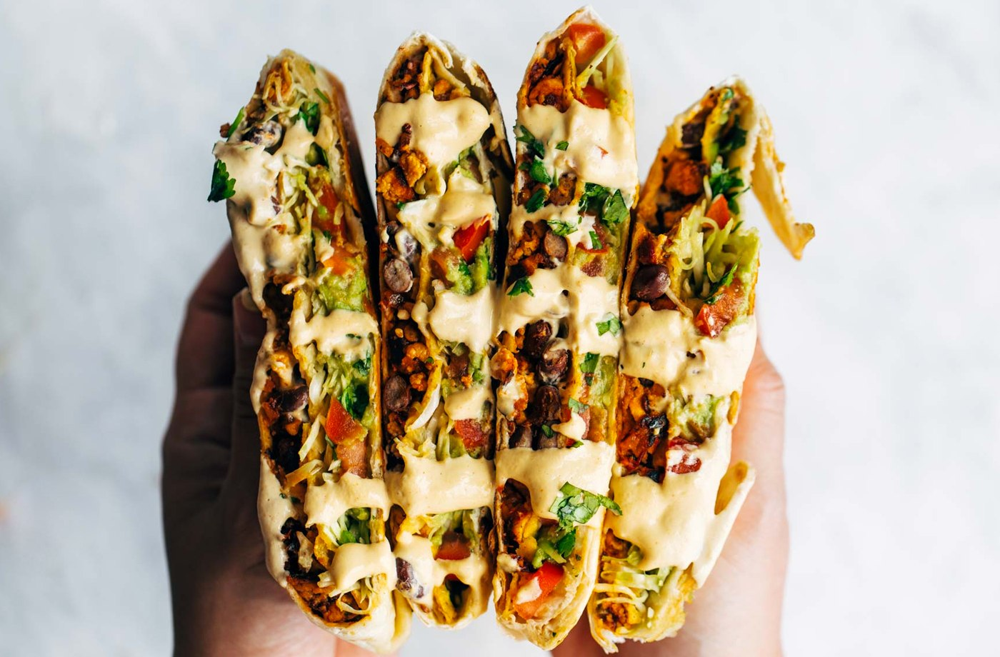 Thumbnail for Three words that'll make your day: veganized Crunchwrap Supreme