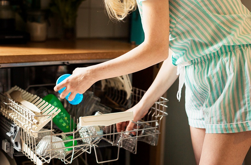 How to clean your dishwasher with vinegar in 4 steps | Well+Good