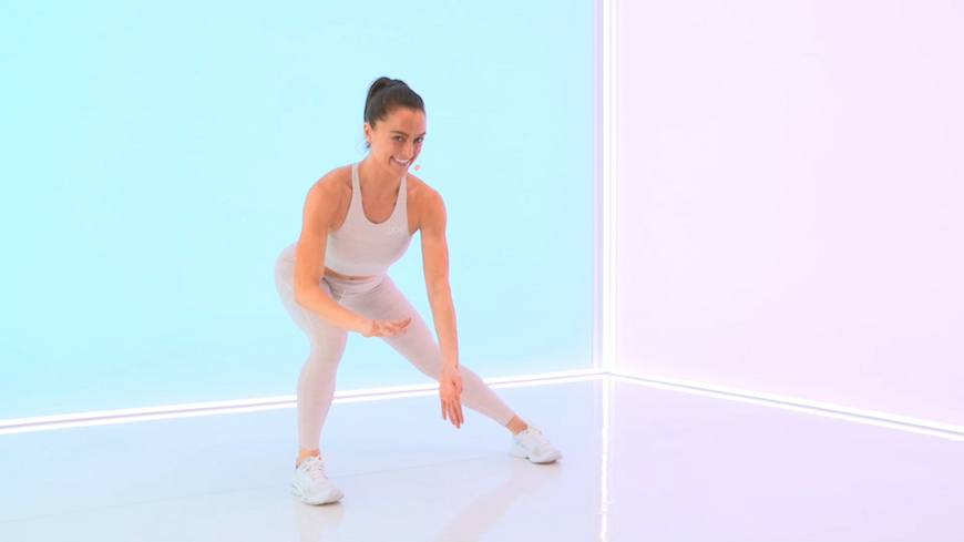 Thumbnail for The most common mistake to make when doing the side lunge