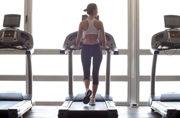 Here's a secret: Sprinting on a treadmill doesn't have to totally suck