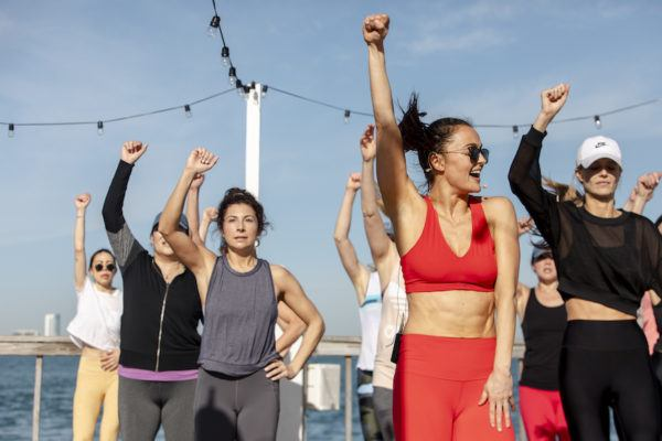 Surprise! a Post-Basel Dance Party Turned Out to Be the Best Workout Ever
