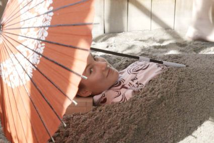 Can being buried in hot volcanic sand *really* help combat inflammation?