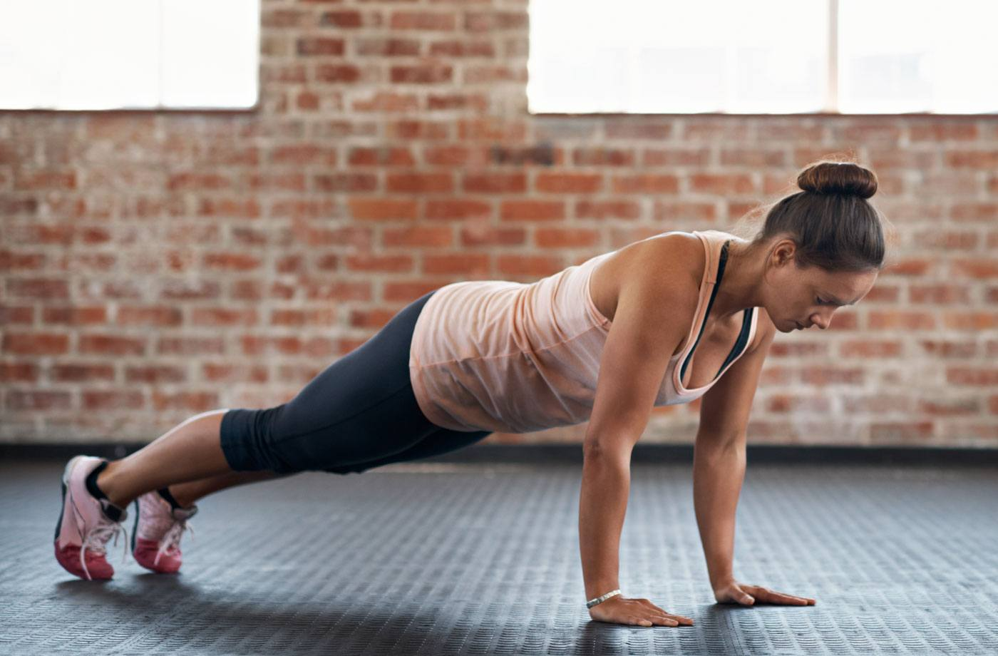 This 2-for-1 push-up will give you a total full-body workout with a single move