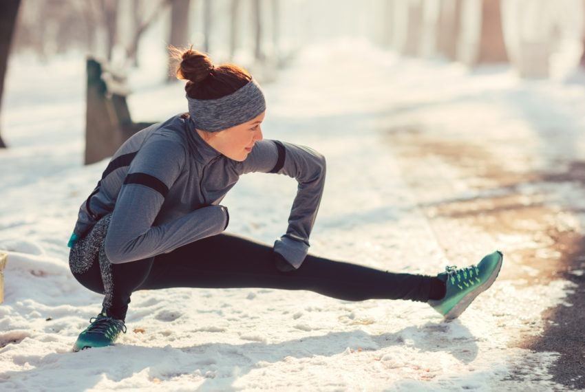 You'll Want to Add Fleece-Lined Tights to Your Winter Running Wardrobe