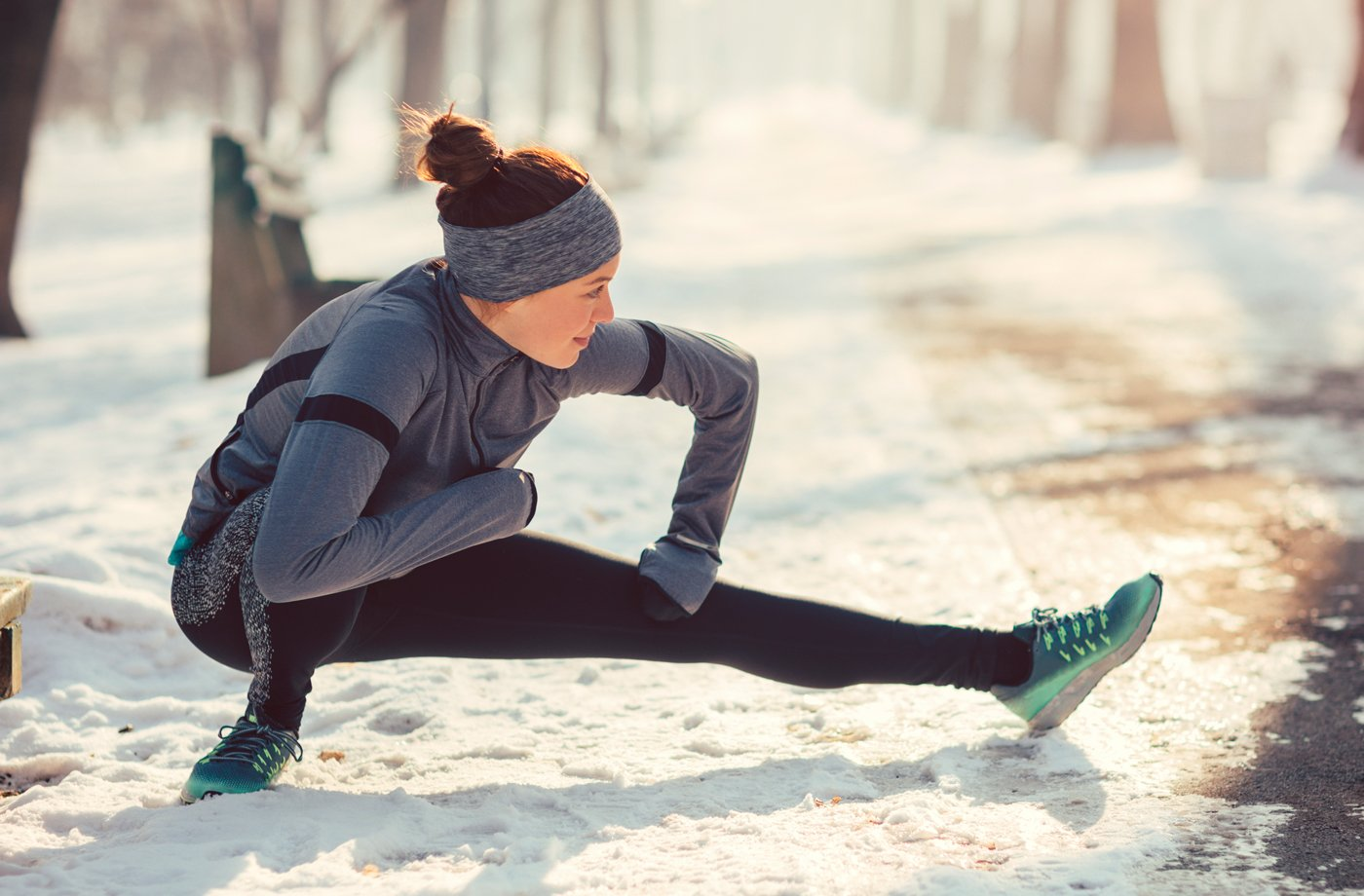 Thumbnail for You'll Want to Add Fleece-Lined Tights to Your Winter Running Wardrobe