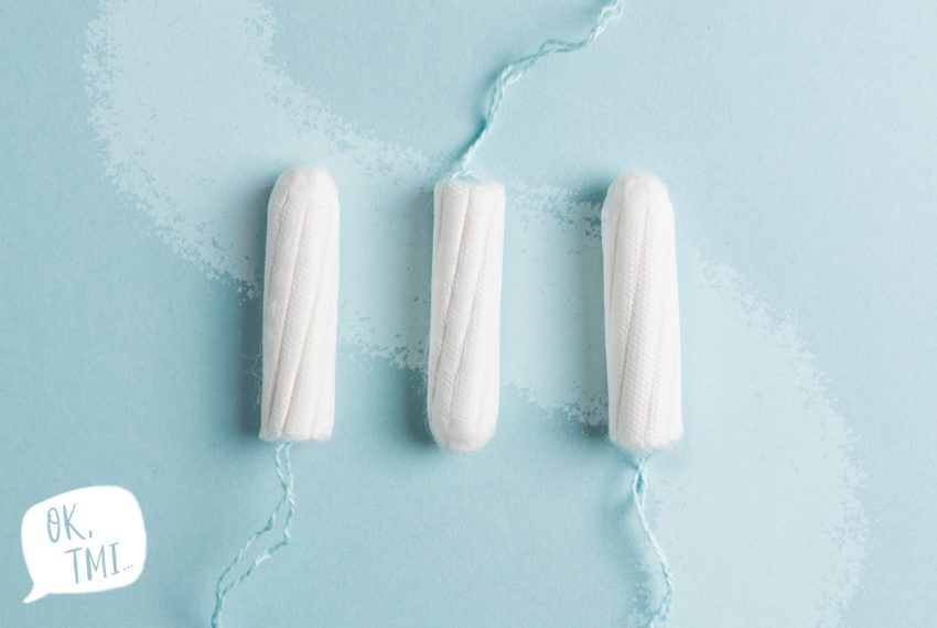 OK, TMI...My Tampon Is Stuck. What Now?