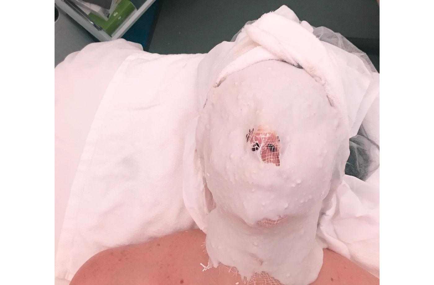 Thumbnail for I tried a digital detox facial meant to undo the damage blue light causes