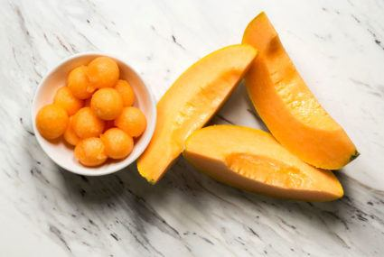 Move over, oranges—turns out cantaloupe has a ton of vitamin C, too