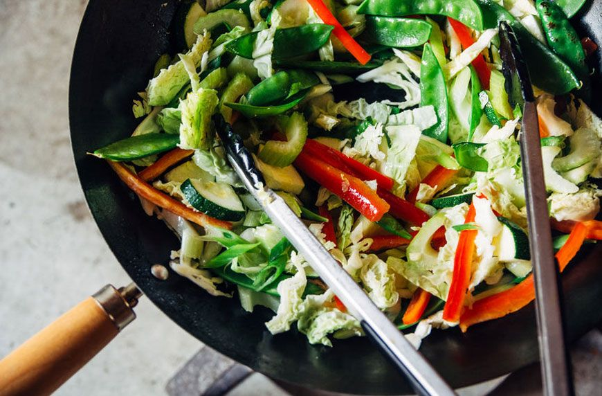 vegan stir fry recipe
