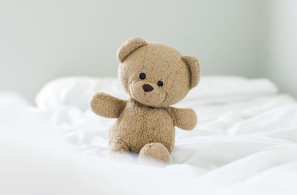 Experts dish on whether it's healthy for your childhood teddy bear to still be your VIP bedmate