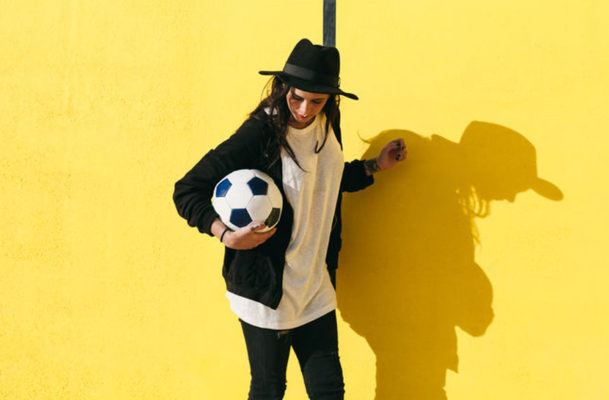 What to wear to watch sports when you're more team fashion than anything else