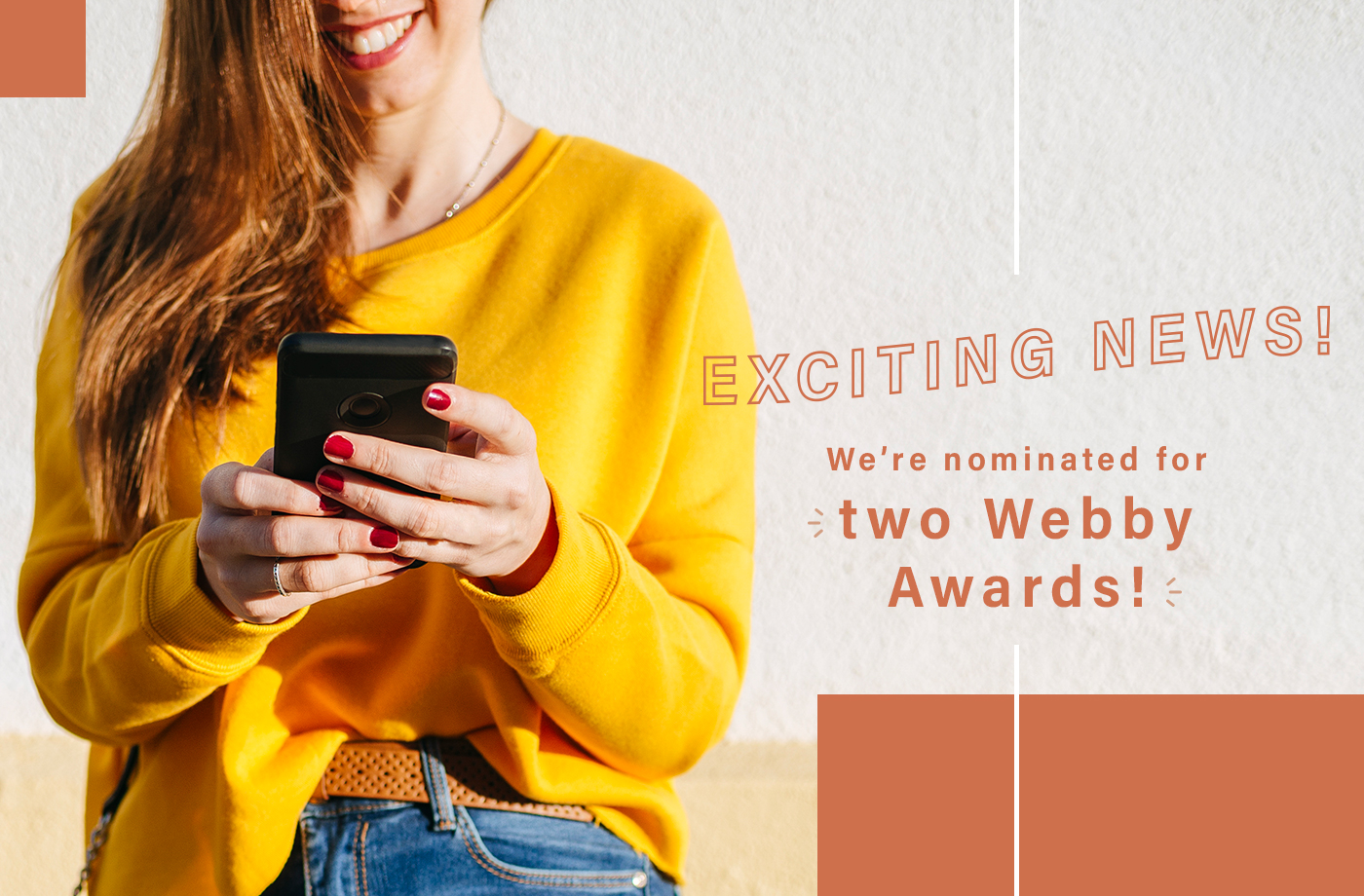 Thumbnail for Well+Good is nominated for two Webby Awards—and we need your help to win