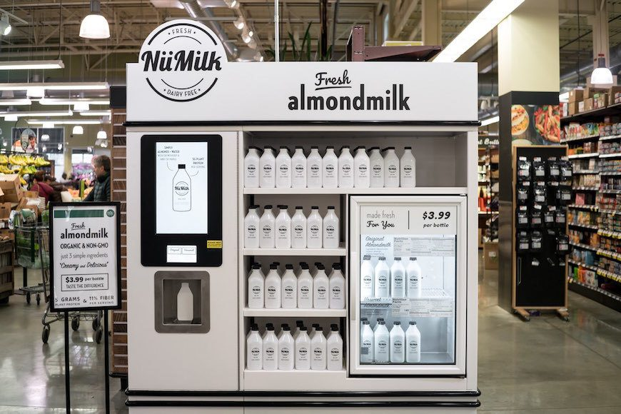 Thumbnail for PSA: You'll soon be able to bottle your own almond milk at Whole Foods