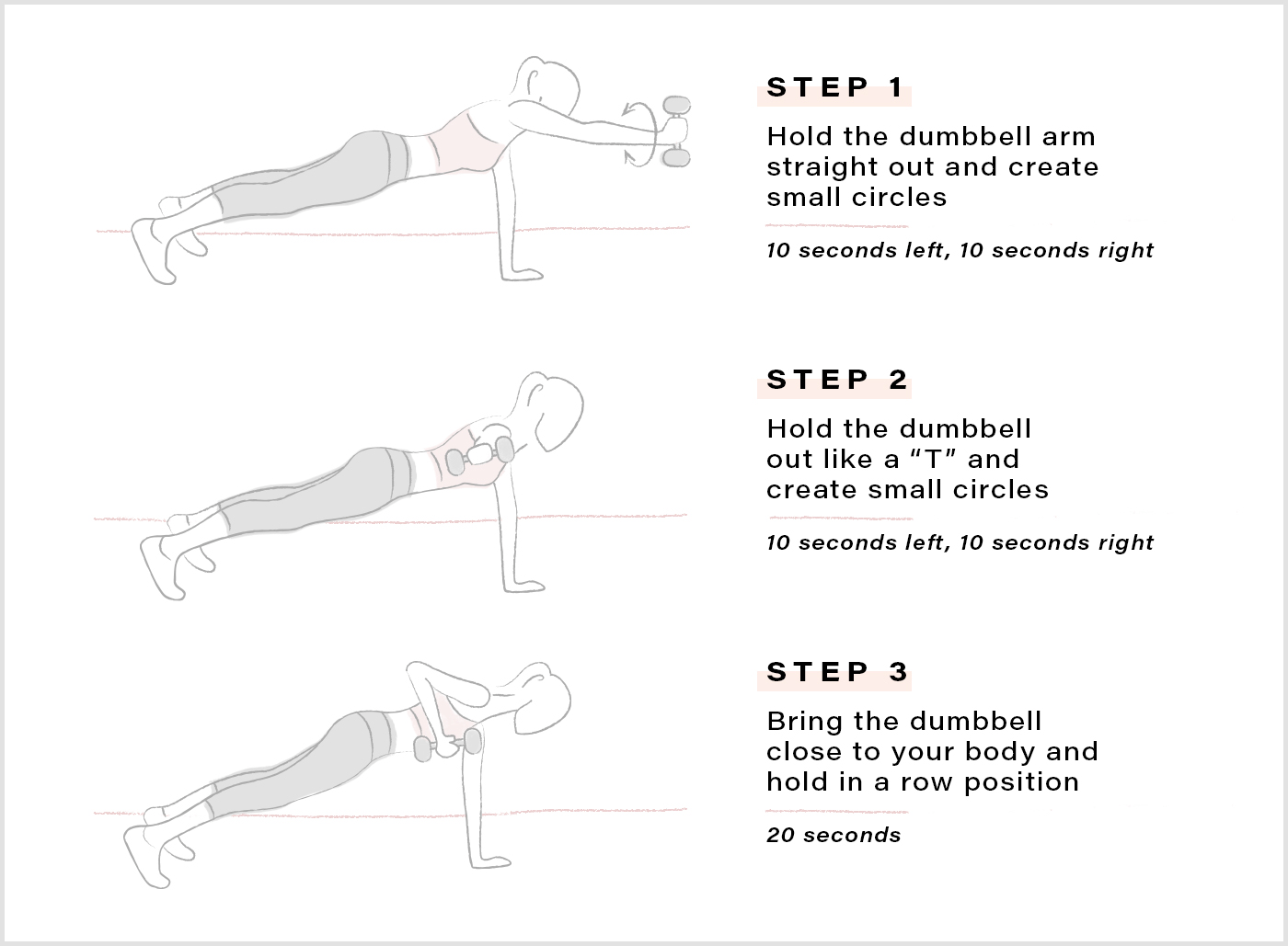 Thumbnail for Work your entire body with this intense two-minute plank series