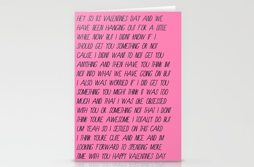 Thumbnail for These hilariously real Valentine's Day cards are perfect for any relationship status