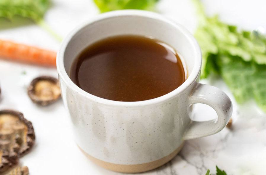 Thumbnail for Feeling run down? Whip up this vegan bone broth in your Instant Pot
