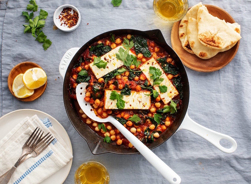winter dinner recipes baked feta