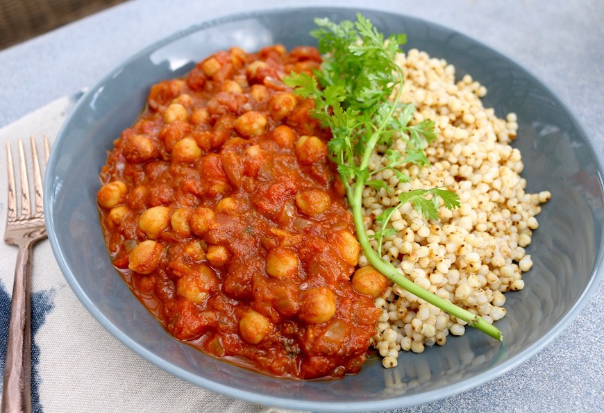 winter dinner recipes chickpea curry