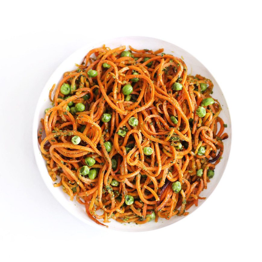 winter dinner recipes sweet potato noodles