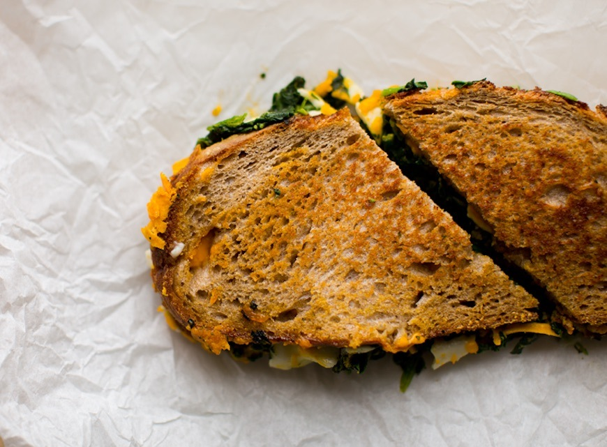 winter dinner recipes grilled cheese