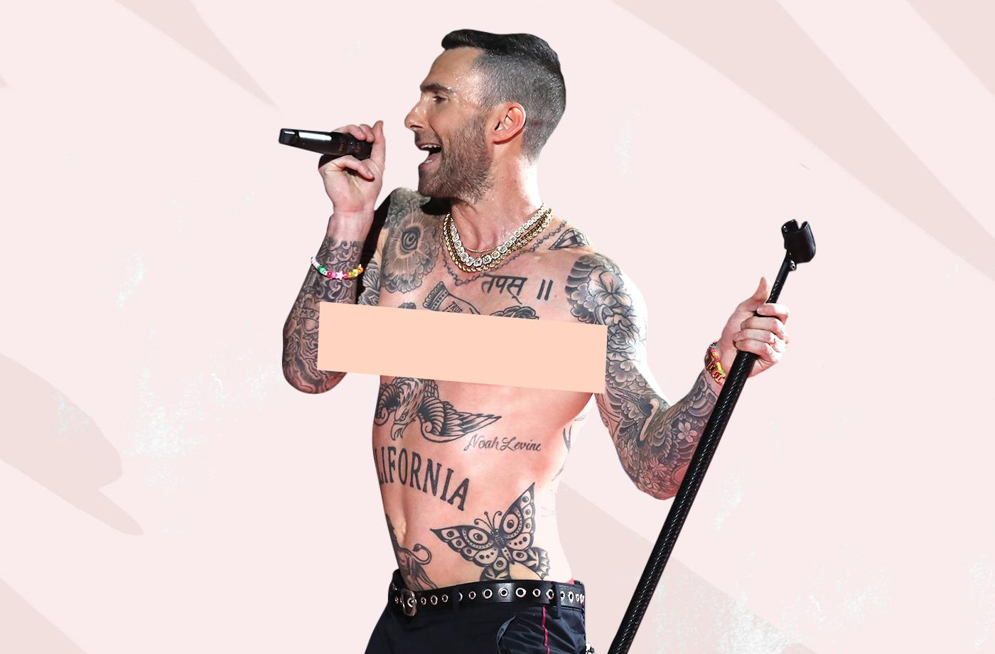 Thumbnail for Of course Adam Levine's nipple reveal wasn't shocking—that's precisely the issue