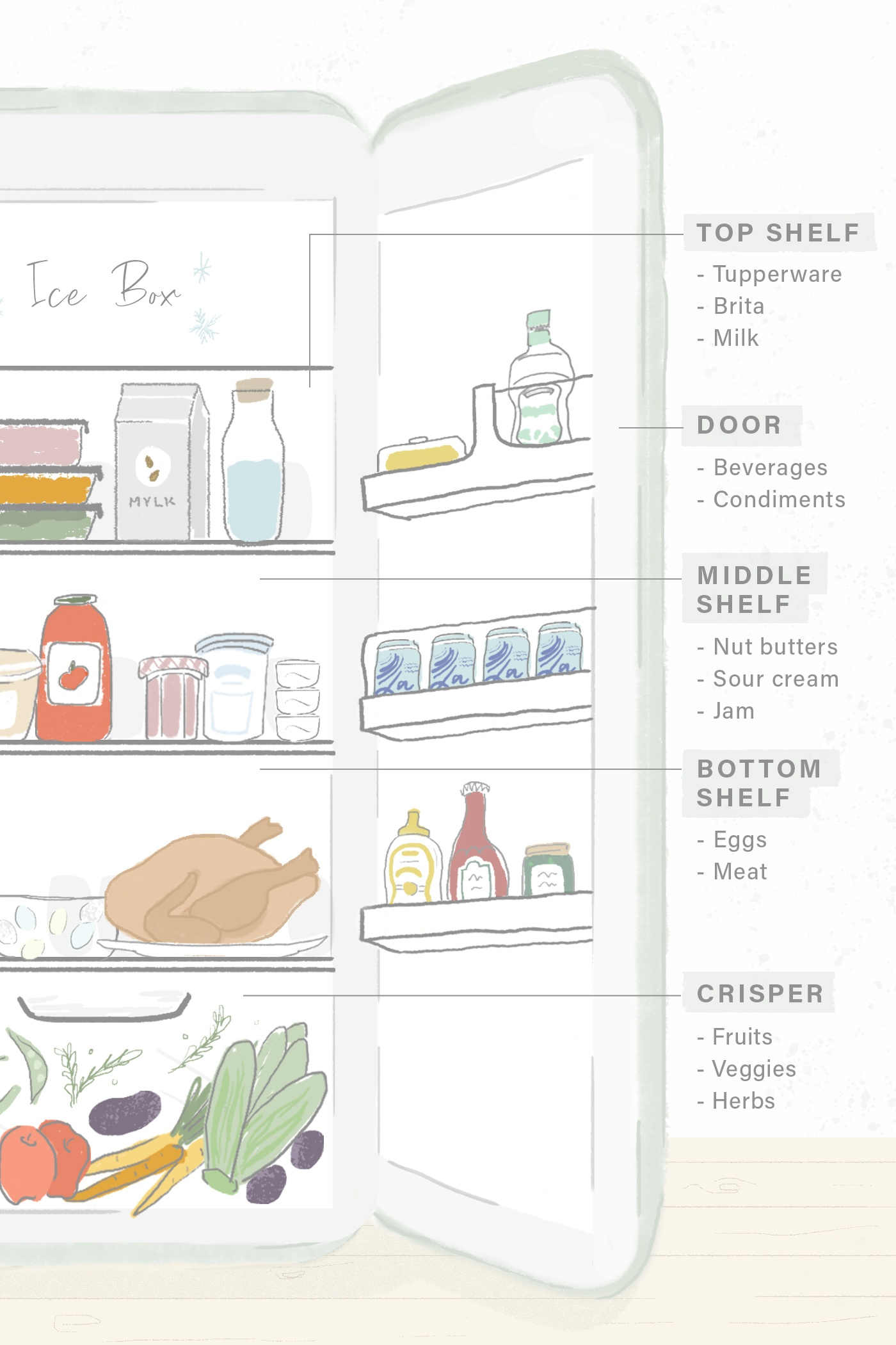Thumbnail for Never forget about your leftovers again with these RD-approved fridge organization tips