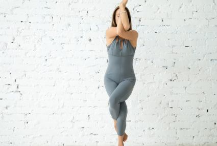 I exclusively wore jumpsuits to yoga for a month, and I have some thoughts…