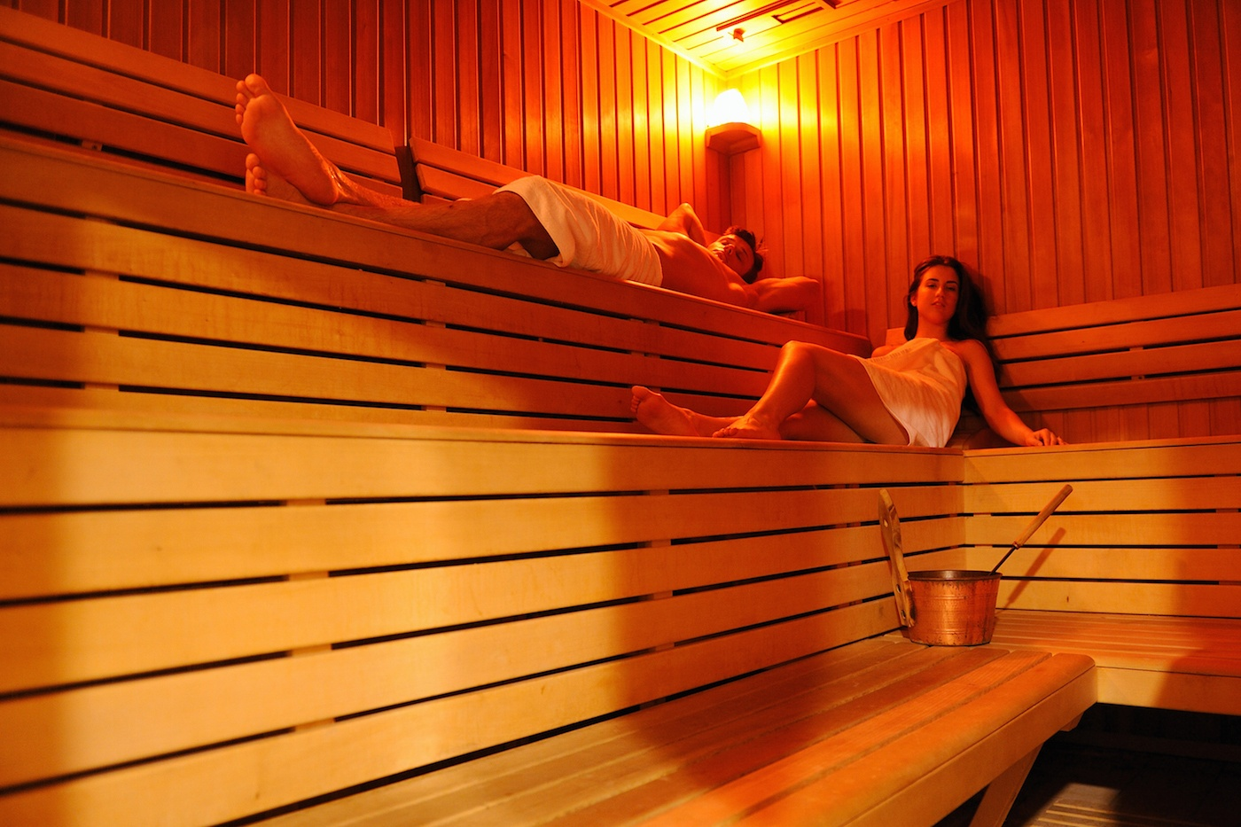 Thumbnail for An infrared sauna date is basically the romance edition of Instagram vs. reality