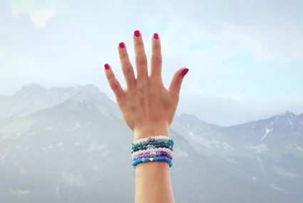 Handmade Crystal Chakra Bracelet
