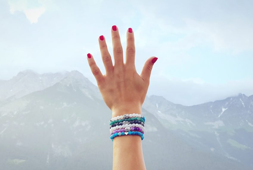 How to make a chakra bracelet that will balance your look (and possibly, your energy)
