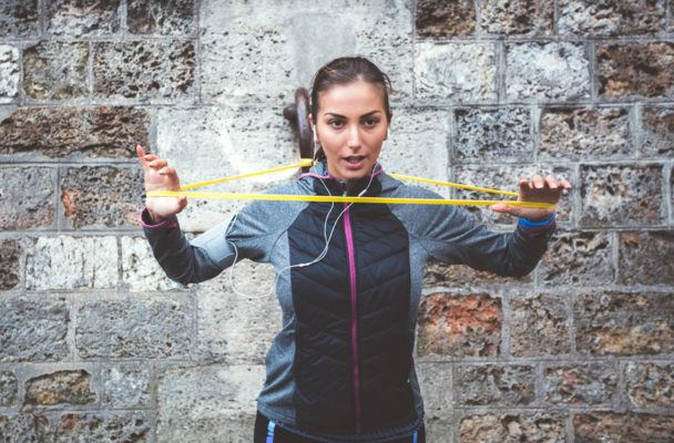 6 simple exercises that are *way* more effective with resistance bands