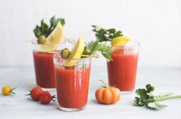 Sorry celery juice, but tomato juice was here first