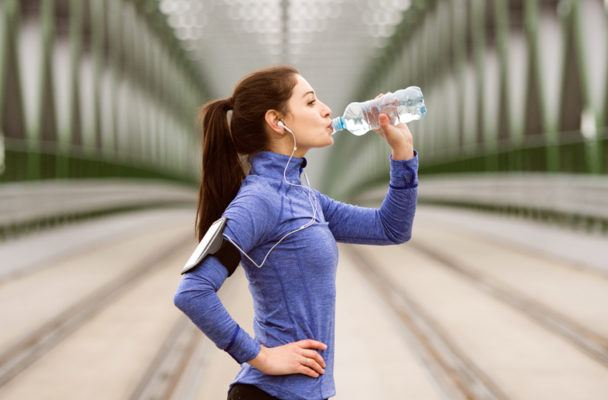 Yes, it's really possible to drink *too* much water during a workout