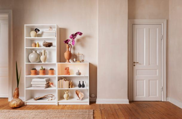 IKEA's Billy bookcase is 40 years old! Here are 8 hacks that keep it totally fresh